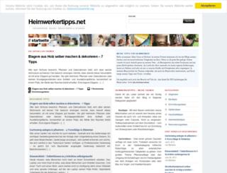 heimwerkertipps.net screenshot
