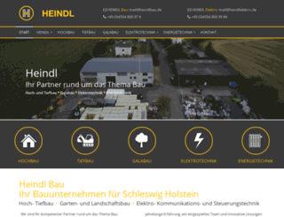 heindlbau.de screenshot