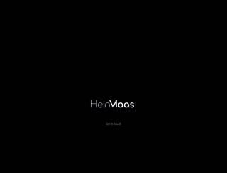 heinmaas.com screenshot