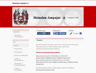 heinolanampujat.fi screenshot