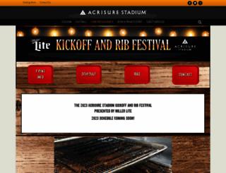 heinzfieldribfest.com screenshot