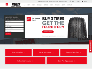 Heisertoyota Screenshot