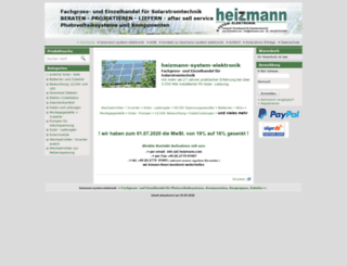 heizmann.com screenshot