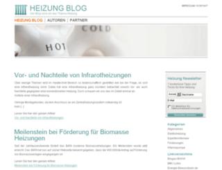 heizung-blog.com screenshot