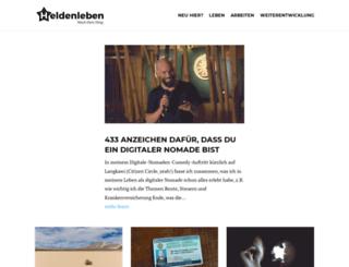 heldenleben.com screenshot