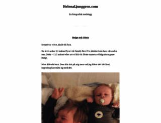 helenaljunggren.com screenshot