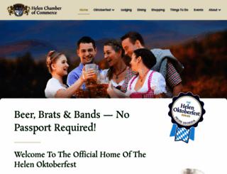 helenchamber.com screenshot