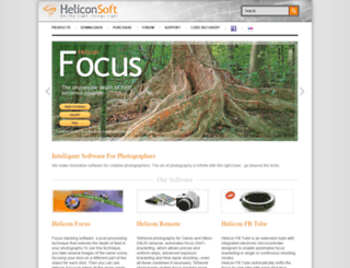 heliconfocus.com screenshot
