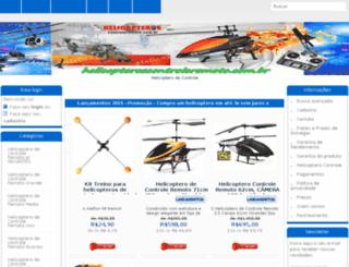 helicopteroscontroleremoto.com.br screenshot
