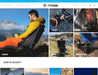 helinoxstore.com screenshot