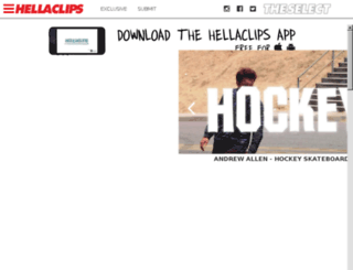 hellaclips.com screenshot