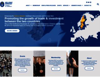 hellenic-swedishcc.gr screenshot