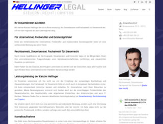 hellinger.eu screenshot
