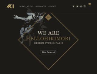 hellohikimori.com screenshot
