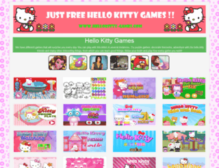 hellokitty-games.com screenshot