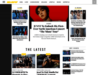 hellokpop.com screenshot