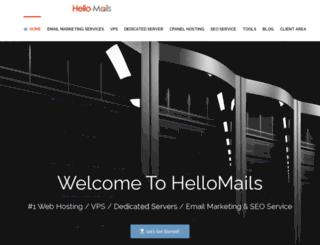 hellomails.com screenshot