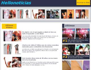 hellonoticias.com screenshot