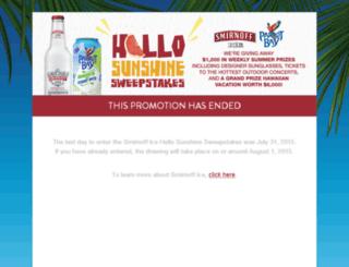hellosunshinesweeps.com screenshot