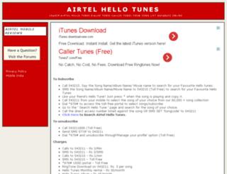 hellotunes.info screenshot