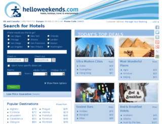helloweekends.com screenshot