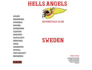 hells-angels.se screenshot