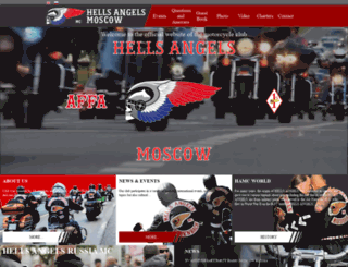 hellsangels.ru screenshot