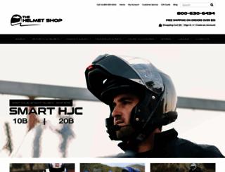 helmetshop.com screenshot