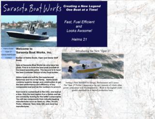 helmsboats.com screenshot