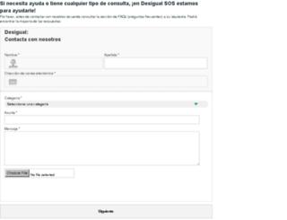 help-es-es.desigual.com screenshot