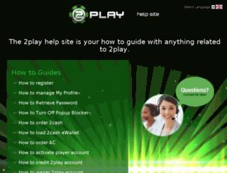 help.2play888.com screenshot
