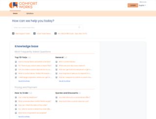 help.comfort-works.com screenshot