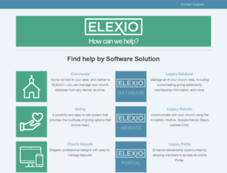 help.elexioamp.com screenshot