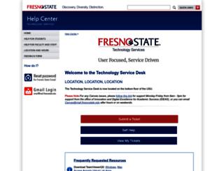 help.fresnostate.edu screenshot