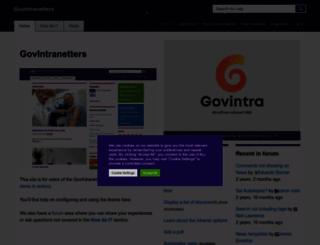 help.govintra.net screenshot