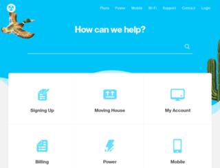 help.orcon.net.nz screenshot