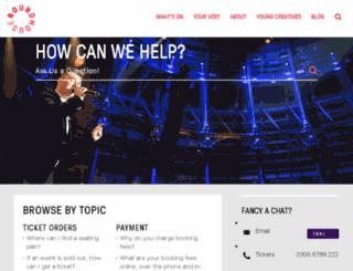 help.roundhouse.org.uk screenshot