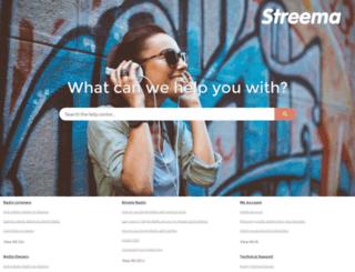 help.streema.com screenshot