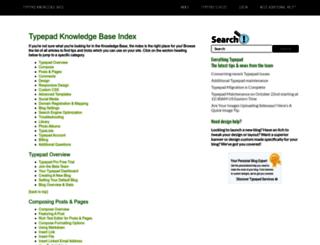 help.typepad.com screenshot