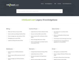 helpcenter.infoquest.com screenshot
