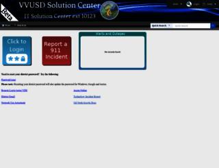 helpdesk.valverde.edu screenshot