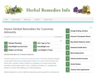 helpfromherbs.com screenshot
