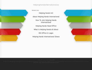 helpinghandsinternational.biz screenshot