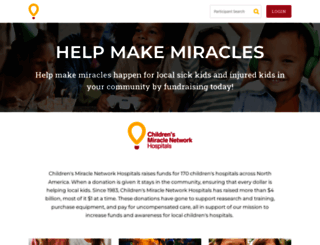 helpmakemiracles.org screenshot