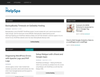 helpspa.com screenshot