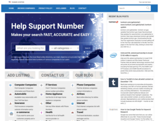 helpsupportnumber.com screenshot