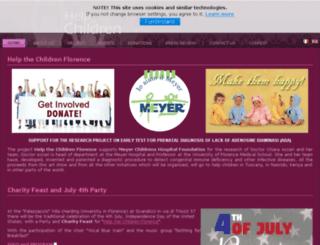 helpthechildrenflorence.org screenshot