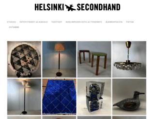 helsinkisecondhand.fi screenshot