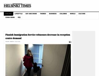 helsinkitimes.fi screenshot