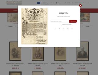 helytortenet.com screenshot